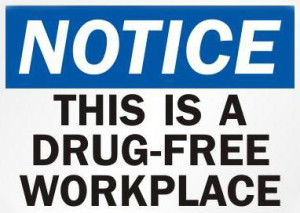 drug free workplace drug test