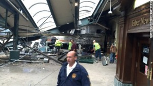 A NJ Commuter Train Crash Kills 1 Injures 100 Passengers