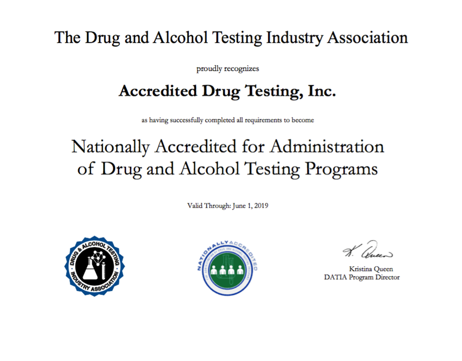 Why To Chose A Drug Testing Company That Is Both DATIA And SAMHSA
