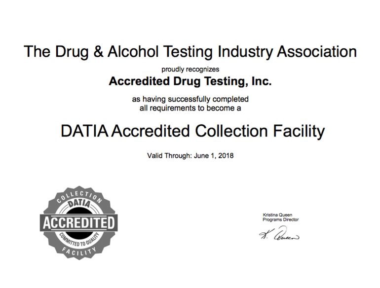Why To Chose A Drug Testing Company That Is Both DATIA, And SAMHSA Certified?
