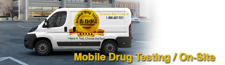 Mobile Drug Testing / On-Site