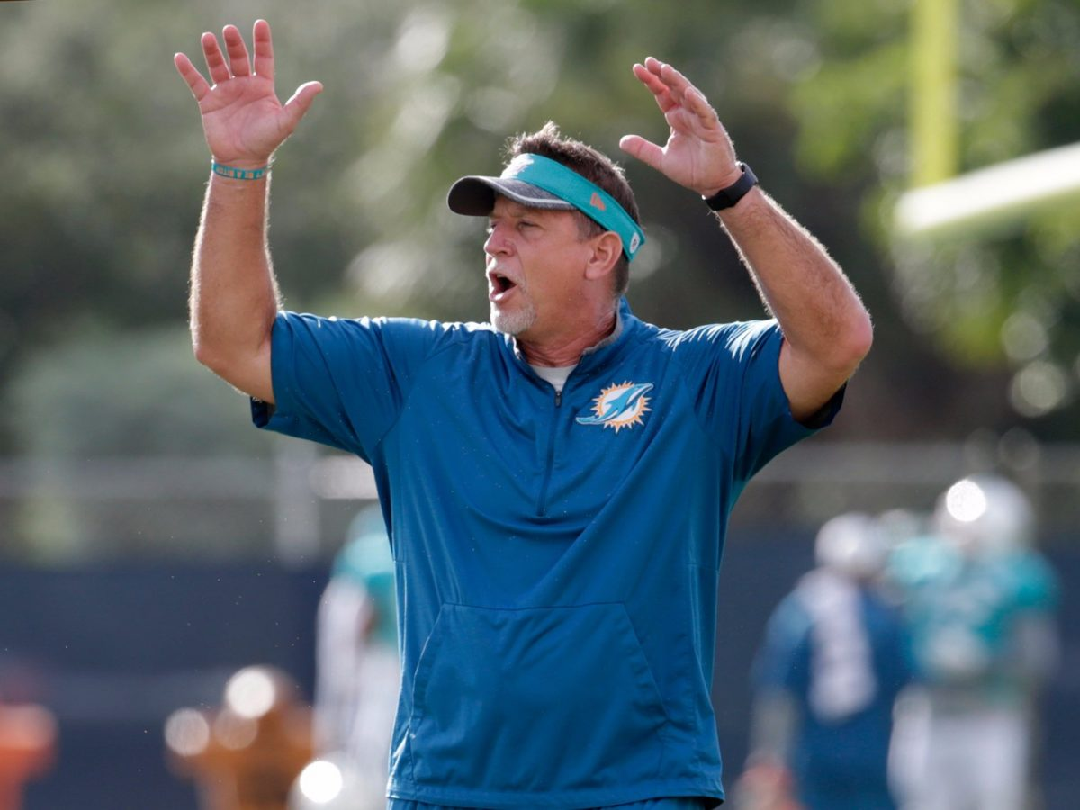 Leaked Drug Use Video Of Miami Dolphins Former Coach